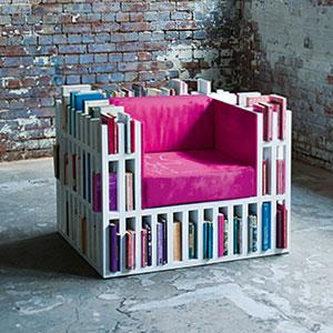 可以找到书的椅子