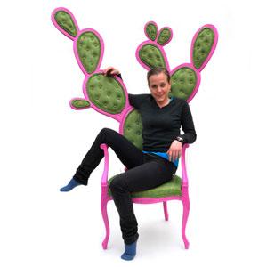奇葩的仙人掌椅子