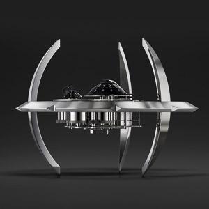 瑞士星际迷航科幻机械钟表