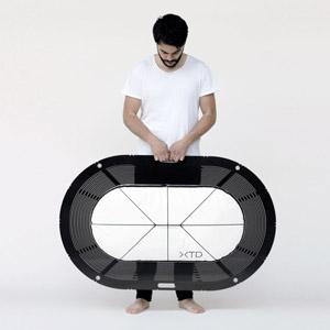 便携式折叠浴缸设计Xtend