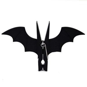 蝙蝠衣架夹子