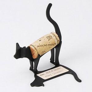 红酒塞小动物纪念创意