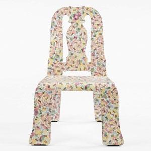 安娜皇后椅——要乱也还要美