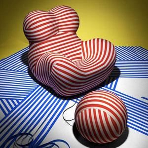 Up5 donna设计师Gaetano Pesce的性感躺椅