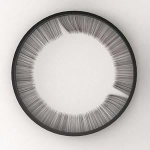 介于冥想与时钟之间的睫毛时钟